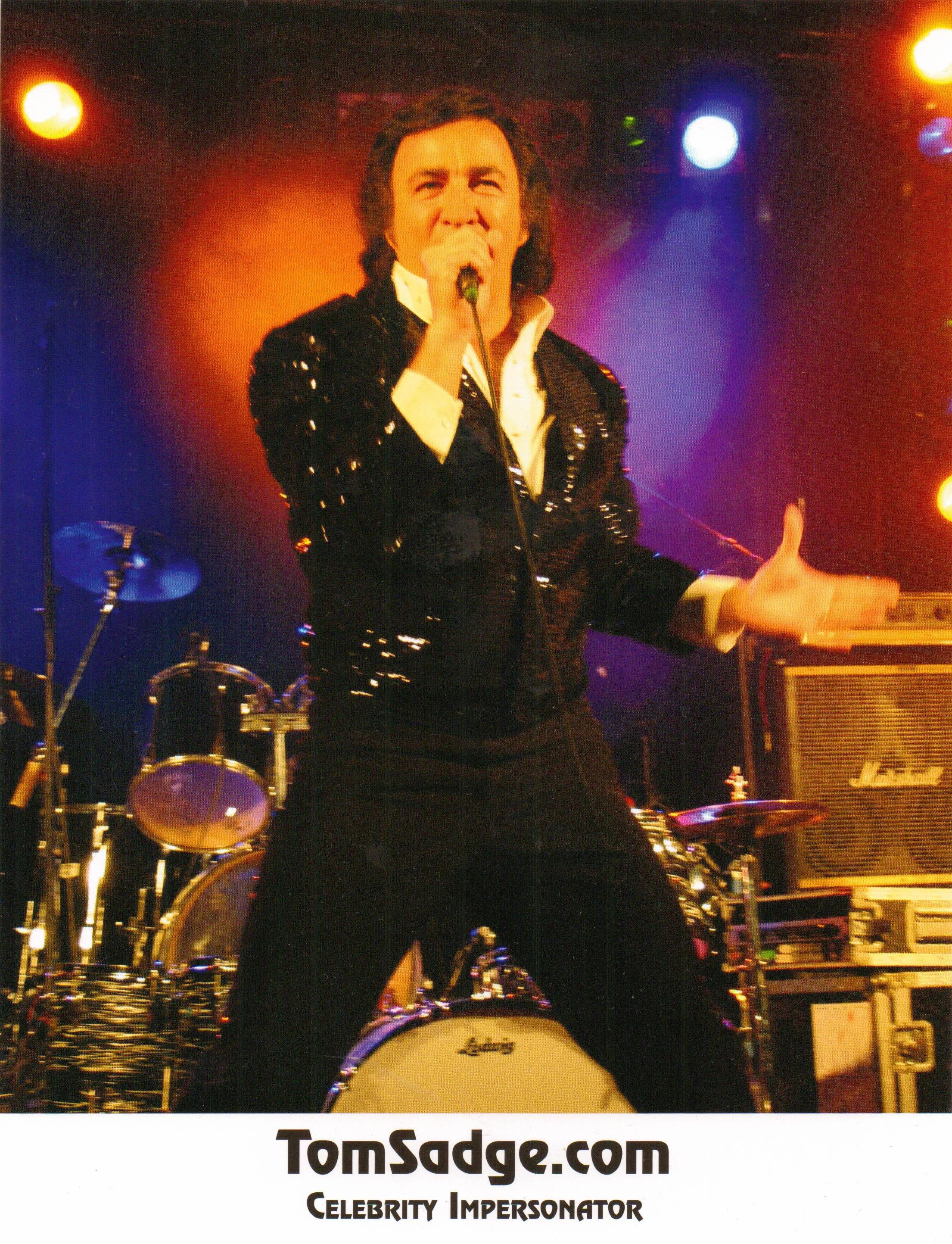 Neil Diamond tribute artist